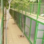 Vista de habitaciones desde el pasillo